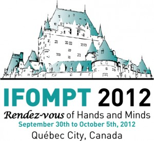 IFOMPT Conference 2012 - World Congress of Manual and Musculoskeletal Physiotherapy