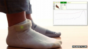 wearable balance assessing socks