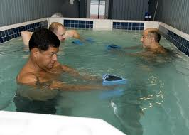 The efficacy and feasibility of aquatic physiotherapy for people with Parkinson's disease: a systematic review.