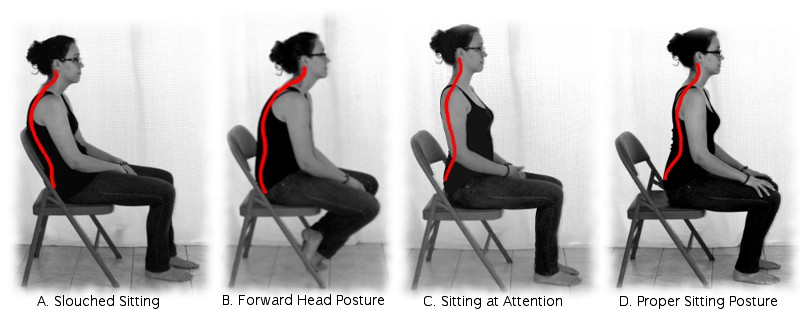 Effects Of Seated Lumbar Extension Postures On Spinal