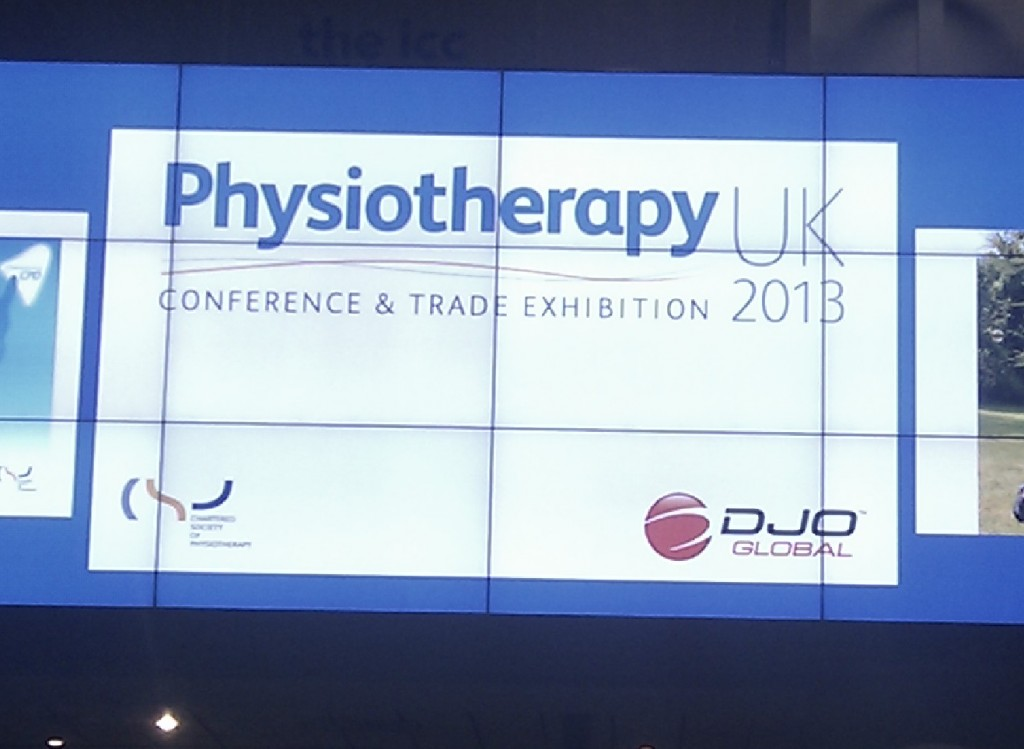 Attending the Physiotherapy UK conference