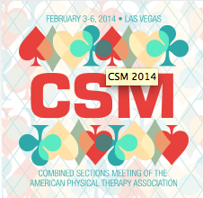 AAOMPT Members Presenting at CSM