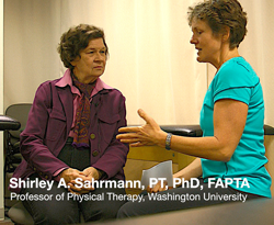 Shirley Sahrmann on Exercise and Aging Well