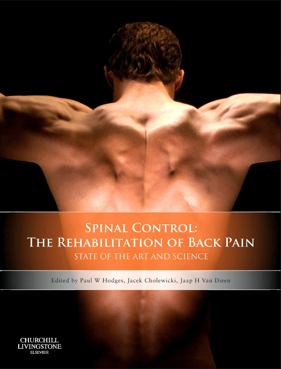 Spinal Control: The Rehabilitation of Back Pain by Paul W Hodges, Jacek Cholewicki and Jaap H Van Dieën