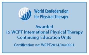 Physiopedia SCI course accredited for CEUs by WCPT