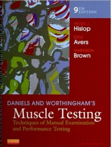 Danieals and Worthinghams Muscle Testing