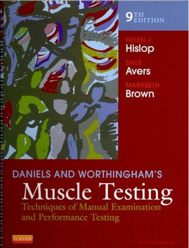 Daniels and Worthinghams Muscle Testing: Techniques of Manual Examination and Performance Testing by Helen Hislop, Dale Avers & Marybeth Brown