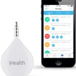 iHealth Align blood glucose monitor and app