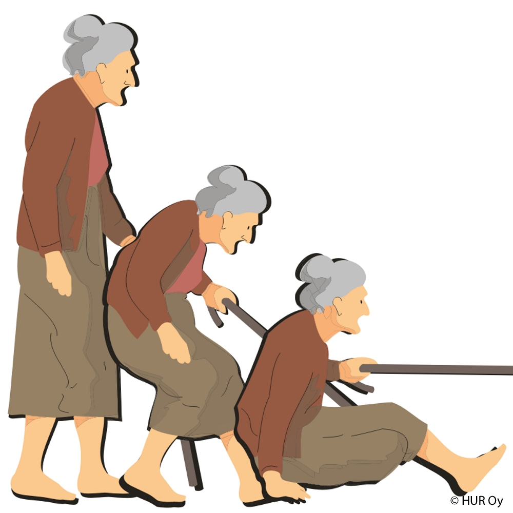 fall prevention on elderly patients in To 30% of elderly people who fall suffer moderate to severe injuries such as  bruises, hip fractures or head trauma the magnitude of the risk may be due, at  least.