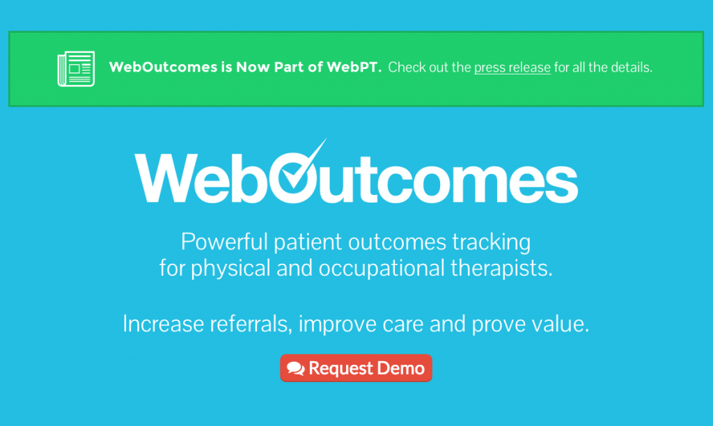 weboutcomes and webpt