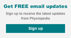 Get free email updates from Physiopedia