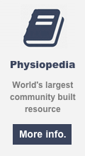 Physiopedia - World's largest community built resource