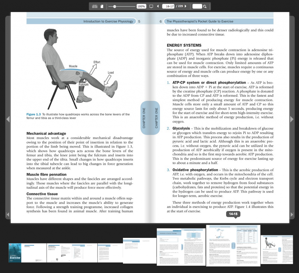 exercise assessment prescription and training