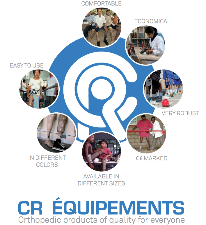 Thanks CR Equipements for allowing us to make the Amputee Rehabilitation course free!