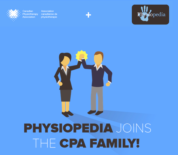canadian physiotherapy association physiopedia partnership