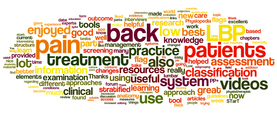 Low Back Pain Course Review