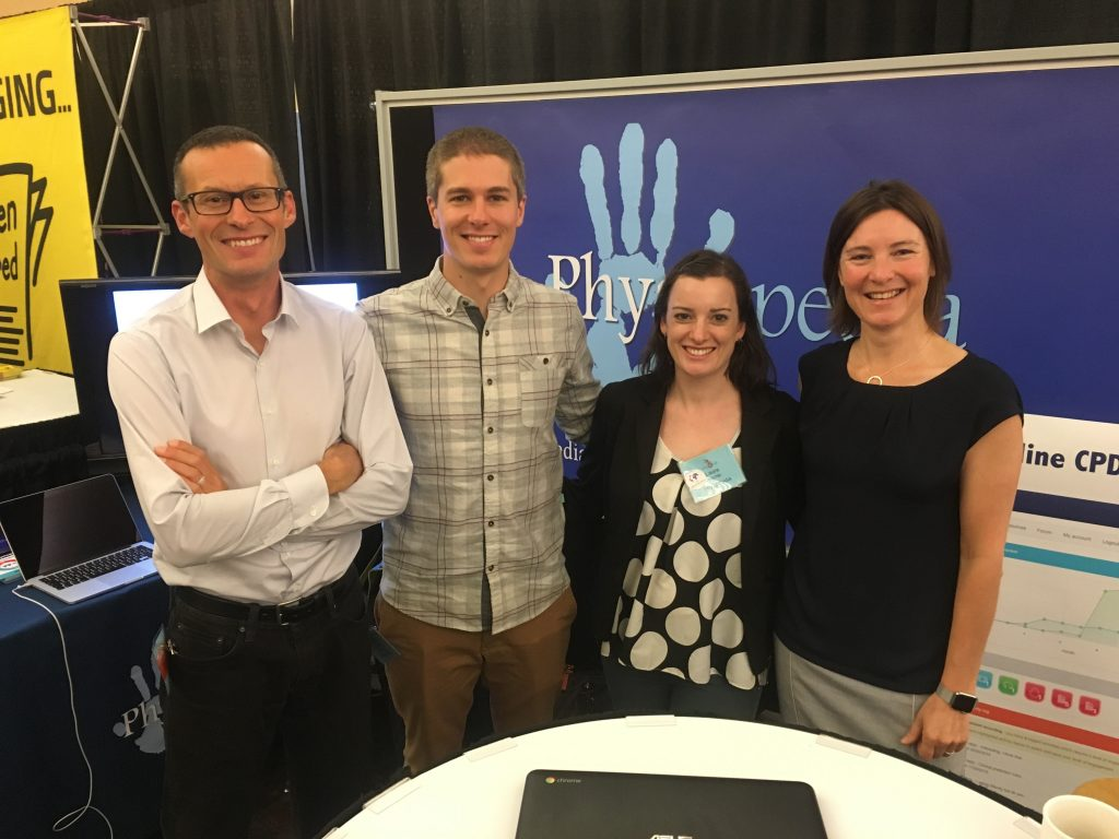Pysiopedia team at the Canadian Physiotherapy Association conference