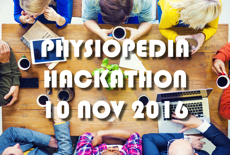 Physiopedia Hackathon 2016