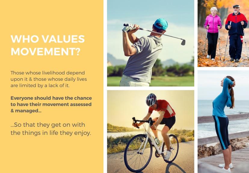 who values movement
