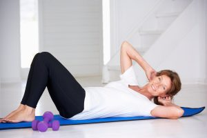 Should women with incontinence and prolapse do abdominal curls?