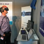 Tony loving the VR at ER-WCPT