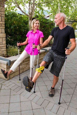Get patients outdoors again with the Activator Poles