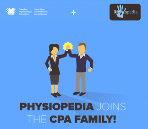 CPA Physiopedia partnership