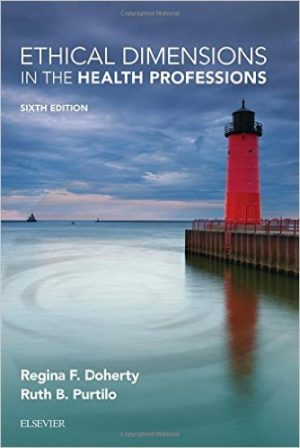 Book Review - Ethical dimensions in the Health Professions