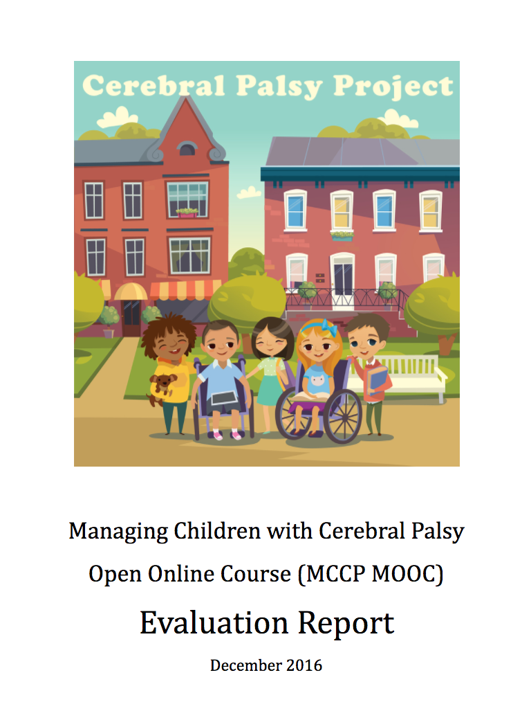 Report from the Managing Children with Cerebral Palsy MOOC