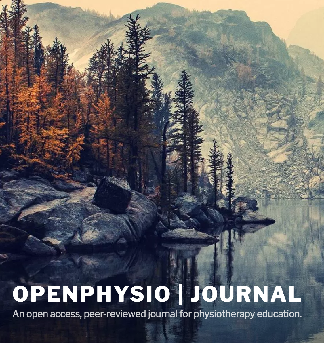 OpenPhysio journal - a shift away from traditional publication models
