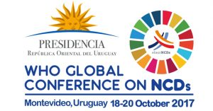 WHO Global Conference on NCDs - Lets Talk About the BIG FOUR