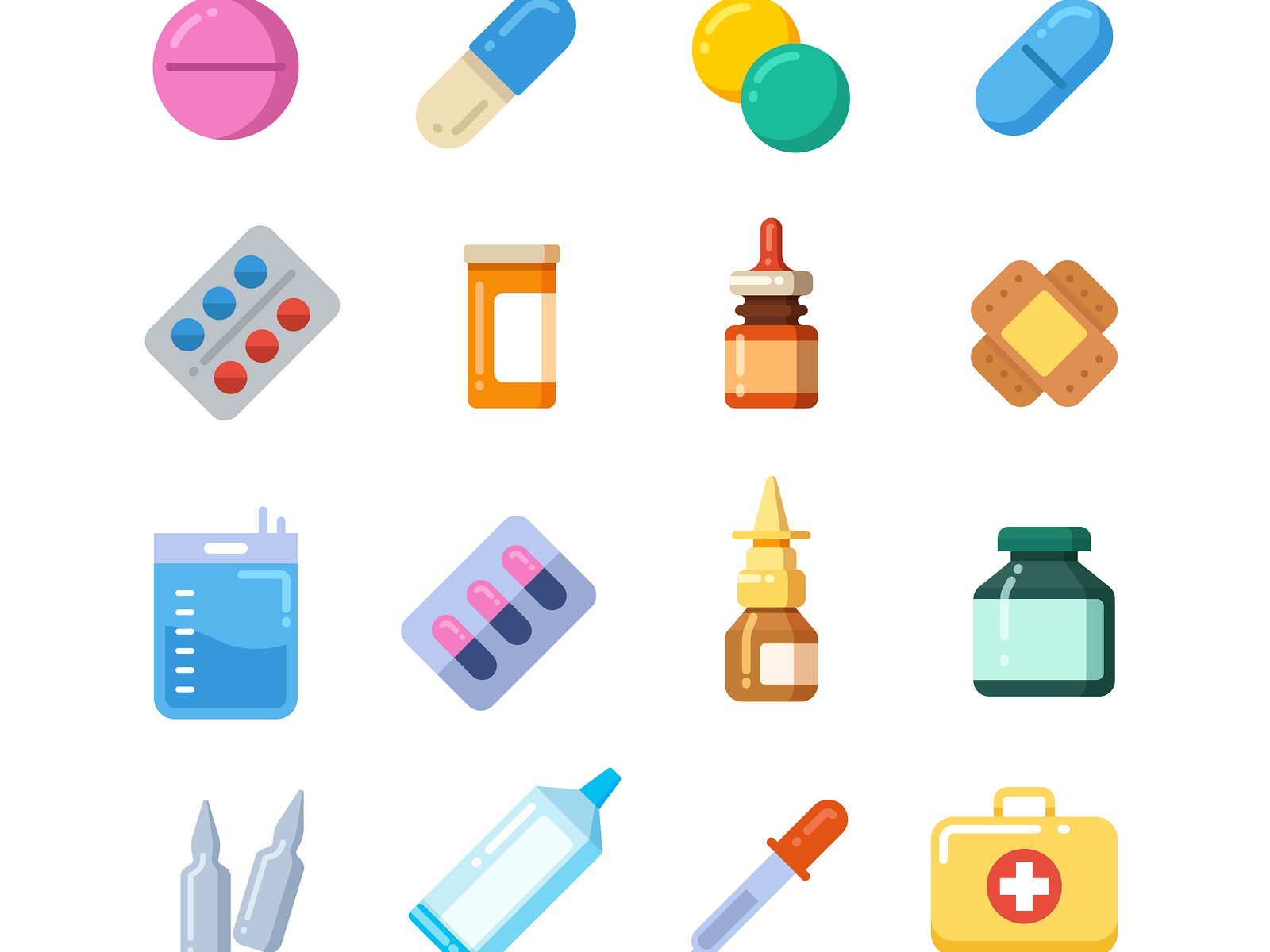 Cartoon medicines
