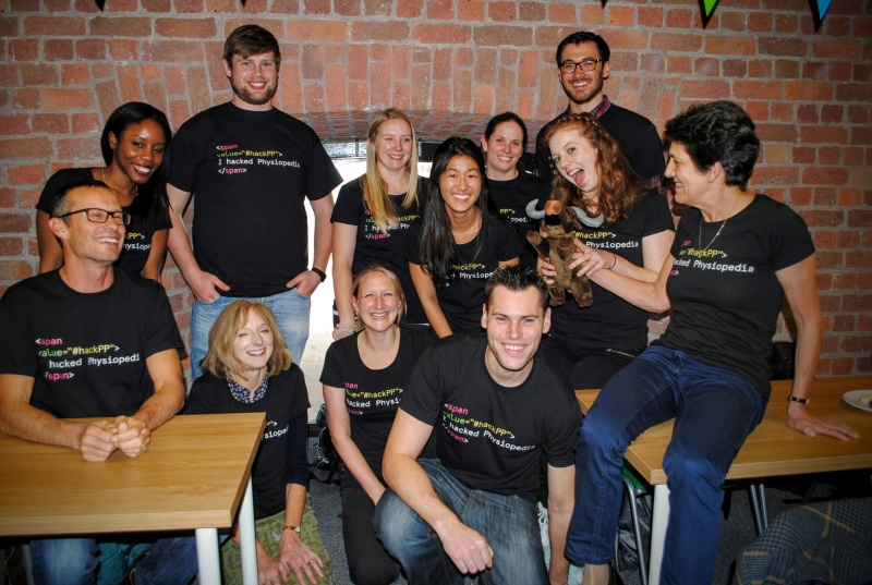 Physiopedia volunteer team - physiotherapy and physical therapy charity volunteering