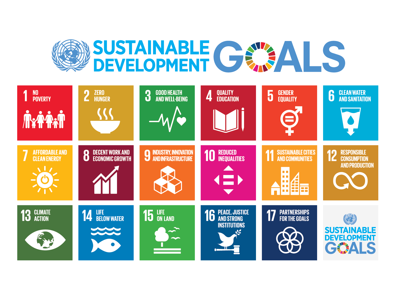UN Sustainable Development Goals 2015
