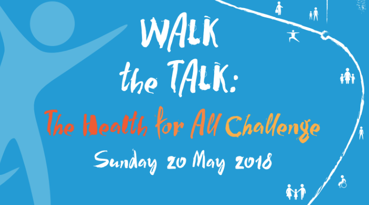 Walk the talk - the health for all challenge