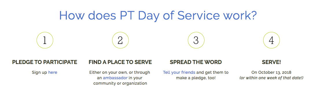 PT Day of Service