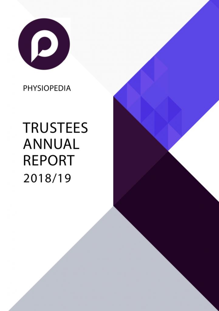 Trustees annual report physiopedia