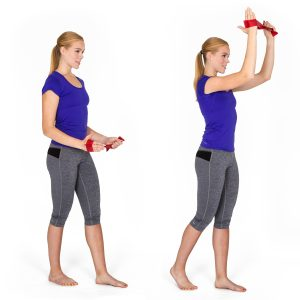 Physiotools Shoulder flexion+ ext rotation