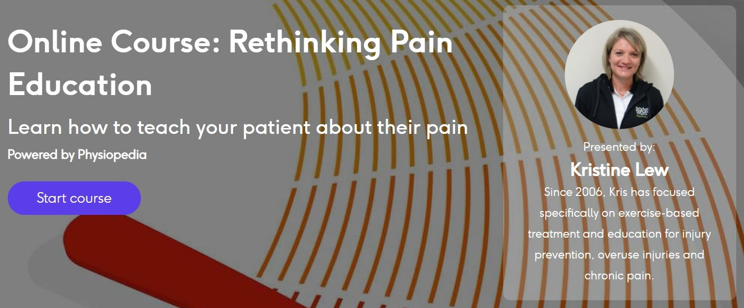 rethinking pain management