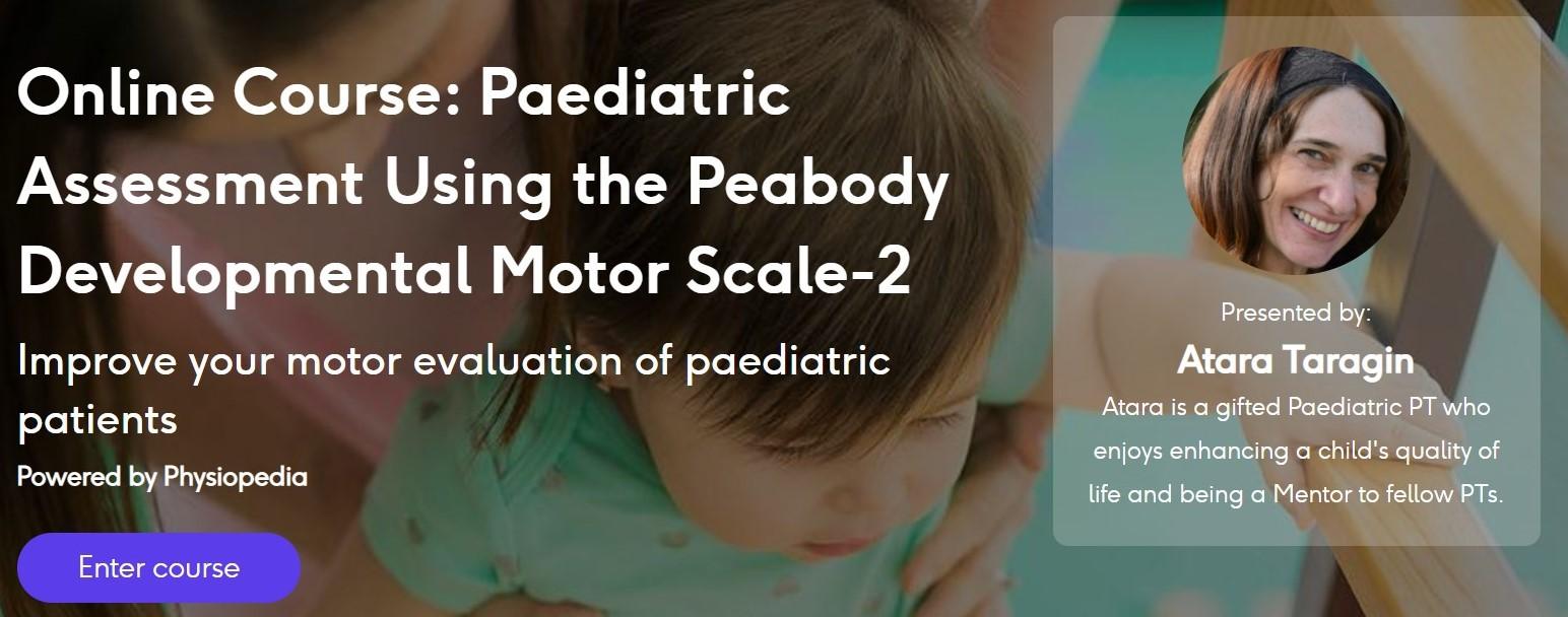 Peabody Developmental Motor Scale 2